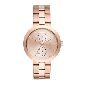 NWT michael kors rose gold matte watch mk6409
